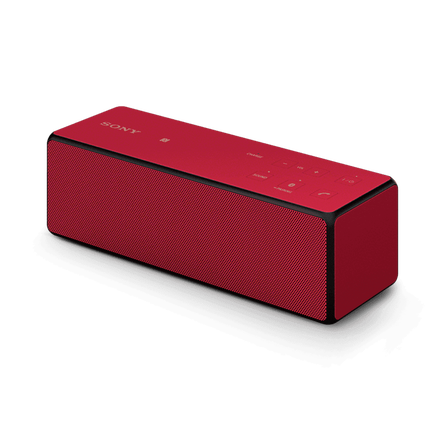 Portable Wireless Bass Speaker with Bluetooth (Red)