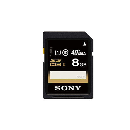 8GB SDHC Memory Card UHS-1 Class 10