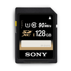 128GB SDHC Memory Card USH-1 Class 10 R70