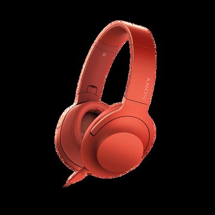 h.ear on Headphones (Red)