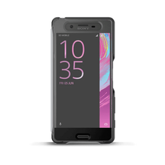 Style Cover Touch SCR50 for Xperia X (Graphite Black)