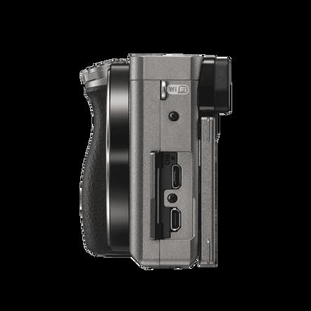 a6000 Digital E-Mount 24.3 Mega Pixel Camera (Grey)