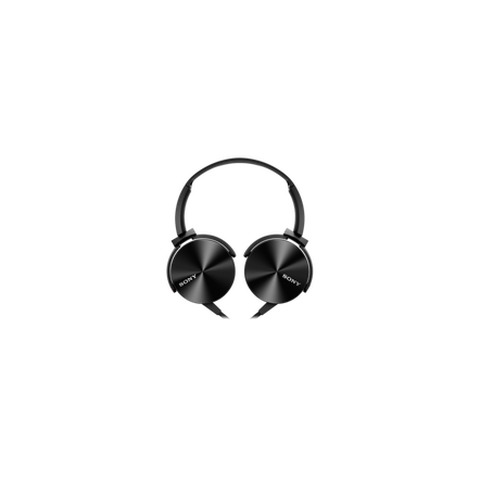 XB450AP EXTRA BASS Headphones (Black)