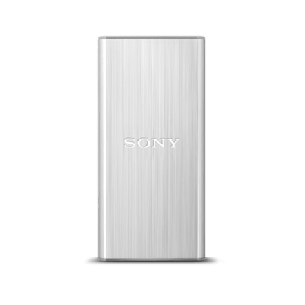 128GB USB 3.0 External Solid State Drive (Silver)