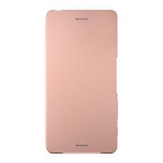 Style Cover Flip SCR52 for Xperia X (Rose Gold)
