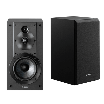 3-way 3-driver Bookshelf Speaker System