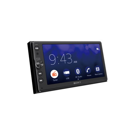 Android Double DIN AV Receiver with Bluetooth