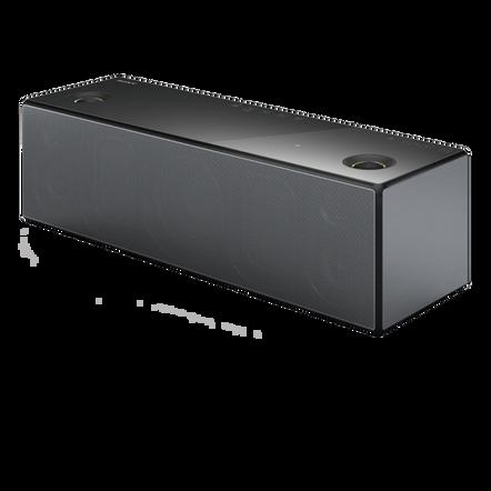 Wireless Speaker with Wi-Fi/Bluetooth (Black)