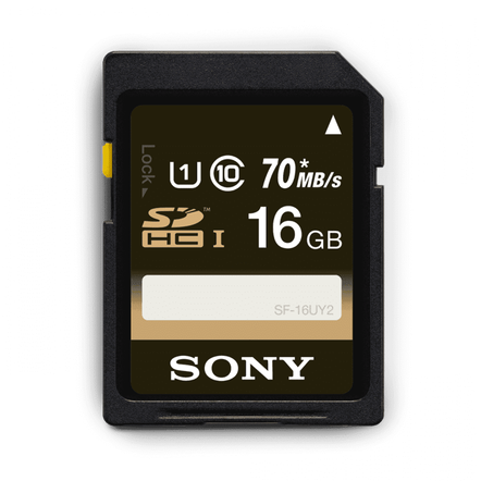 UHS-I Class 10 SDXC/SDHC memory card SF-UY2 Series