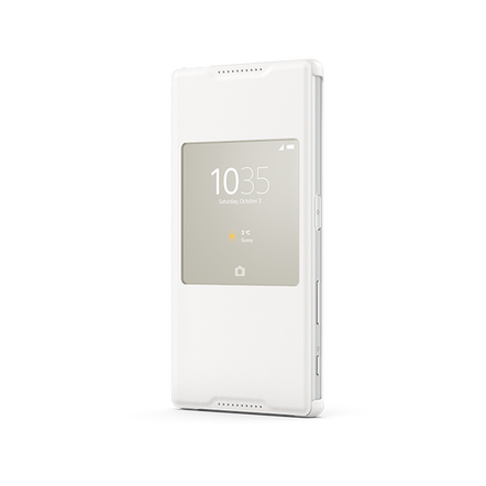 Smart Cover Stand SCR42 for Xperian Z5 (White)