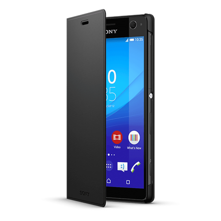 Style Cover Stand SCR38 - Designed for the Xperia C4 (Black)