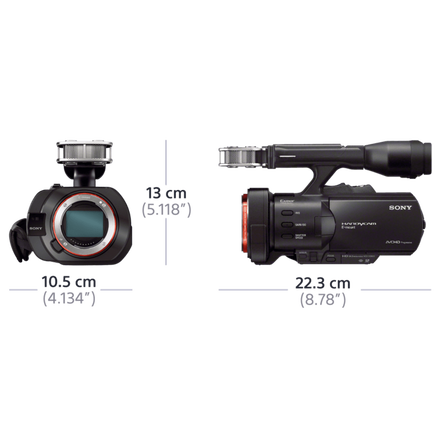 VG900 Interchangeable-Lens Full-Frame Handycam