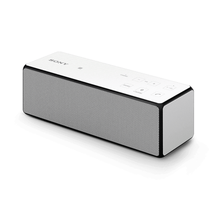 Portable Wireless Bass Speaker with Bluetooth (White)