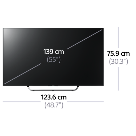 "55"" X8500C 4K Ultra HD LCD LED Smart 3D TV"