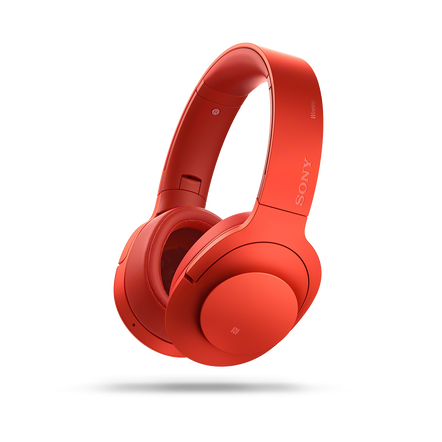 h.ear on Wireless Noise Cancelling Headphones (Red)