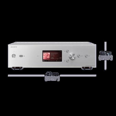 High-Resolution Audio 1TB HDD Player (Silver)