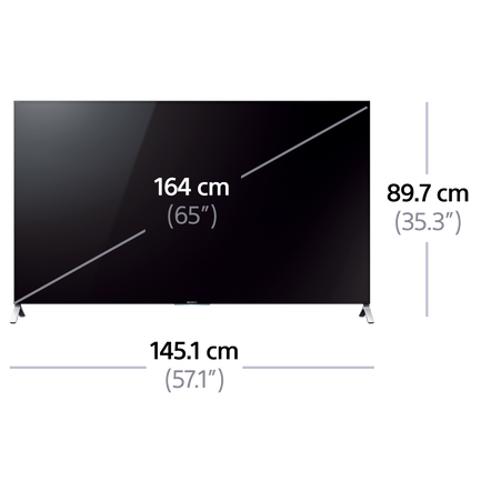 "65"" X9000C 4K Ultra HD with android TV"
