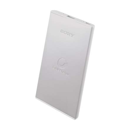 Portable USB Charger5000mAH (Silver)
