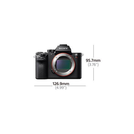 a7R II Digital E-Mount Camera with Back-Illuminated Full Frame Sensor