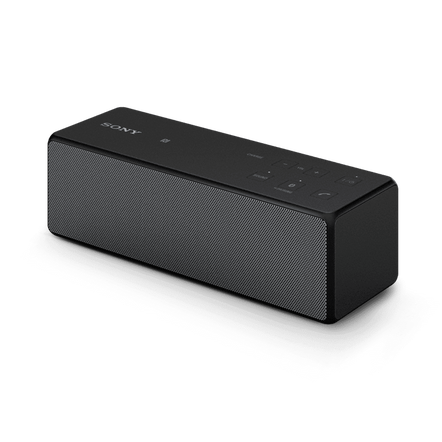Portable Wireless Bass Speaker with Bluetooth (Black)