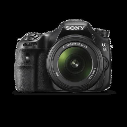 a58 Digital SLT 20.1 Mega Pixel Camera with SAL18552 & SAL55200-2 Lens