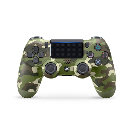 PlayStation4 Dual Shock Wireless Controller (Green Camo)