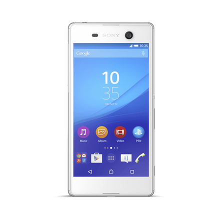 Xperia M5 (White) - Get Ready for The Unexpected