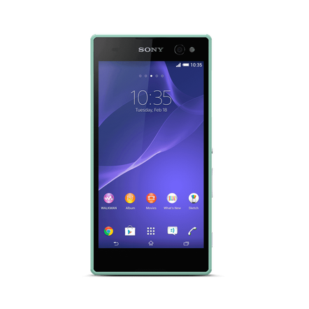 Xperia E4 (Green) - Life made easy. In super speed