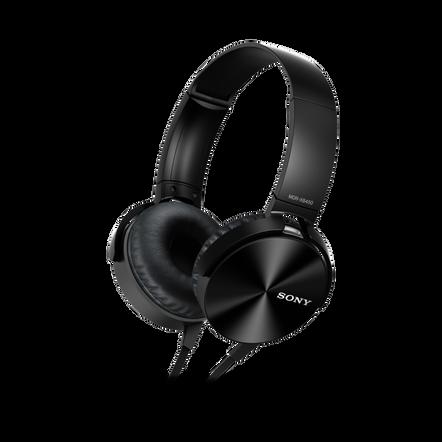 XB450AP EXTRA BASS Headphones (Black)