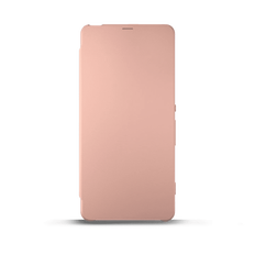 Style Cover Flip SCR54 for Xperia XA (Rose Gold)