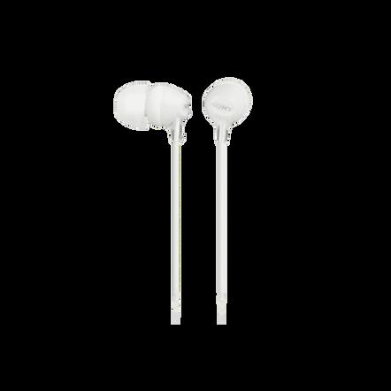 In-Ear Lightweight Headphones (White)