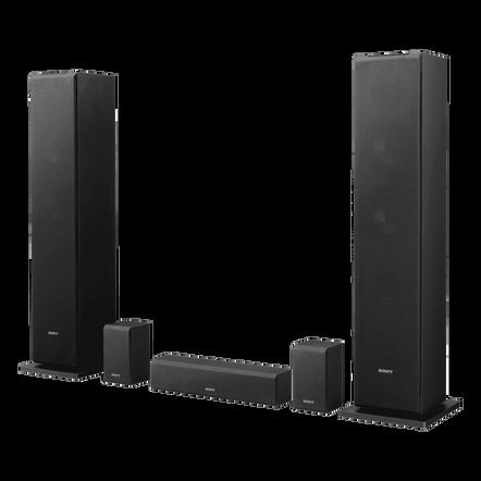 1-way 2-driver Surround Sound Speaker System