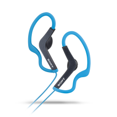 AS200 Splash-proof In-Ear Headphones (Blue)