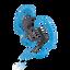 AS200 Splash-proof In-Ear Headphones (Blue)