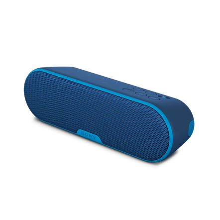 EXTRA BASS Portable Wireless Speaker with Bluetooth (Blue)