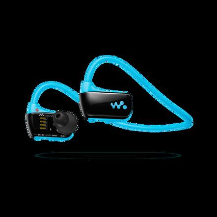 W Series Waterproof MP3 4GB Walkman (Blue)