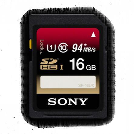 16GB SDHC UHS-1 Class 10 Memory Card UX Series