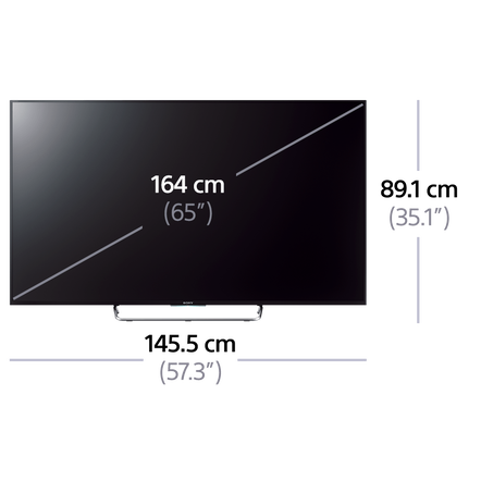 "65"" W850C Full HD TV"