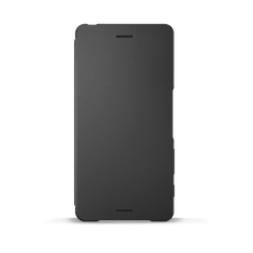 Style Cover Flip SCR52 for Xperia X (Graphite Black)