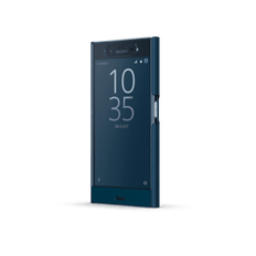 Style Cover Touch SCTF10 for Xperia XZ (Blue)