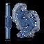 AS210AP Sport In-ear Headphones (Blue)