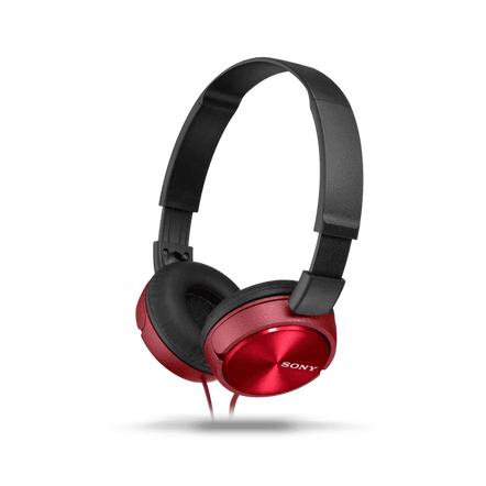 ZX310 Folding Headphones (Red)