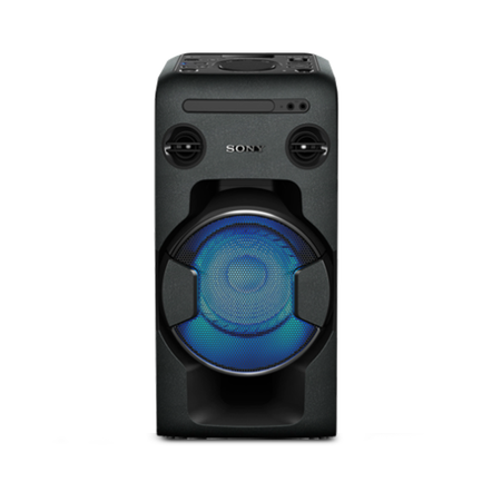 One-Box High Power Home Audio System with Bluetooth