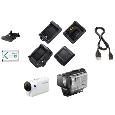 HDRAS300 Action Cam and Live-view Remote Kit