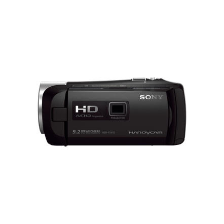 Handycam with Built-in Projector