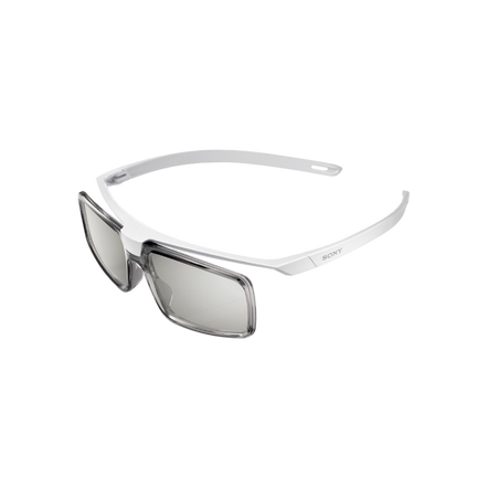 SimulView gaming glasses. Now you and a friend can both experience your own big-screen view of the action as you play nail-biting games.