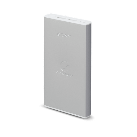 Portable USB Charger 10,000mAH (Silver)