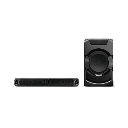 Mini Hi-Fi System with DVD Playback and Bluetooth