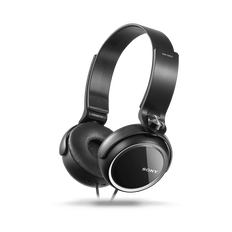 XB250 EXTRA BASS Headphones (Black)