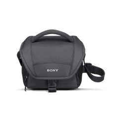Get at everything in your case by opening the large top cover, which also protects the camera or camcorder from rain and sand